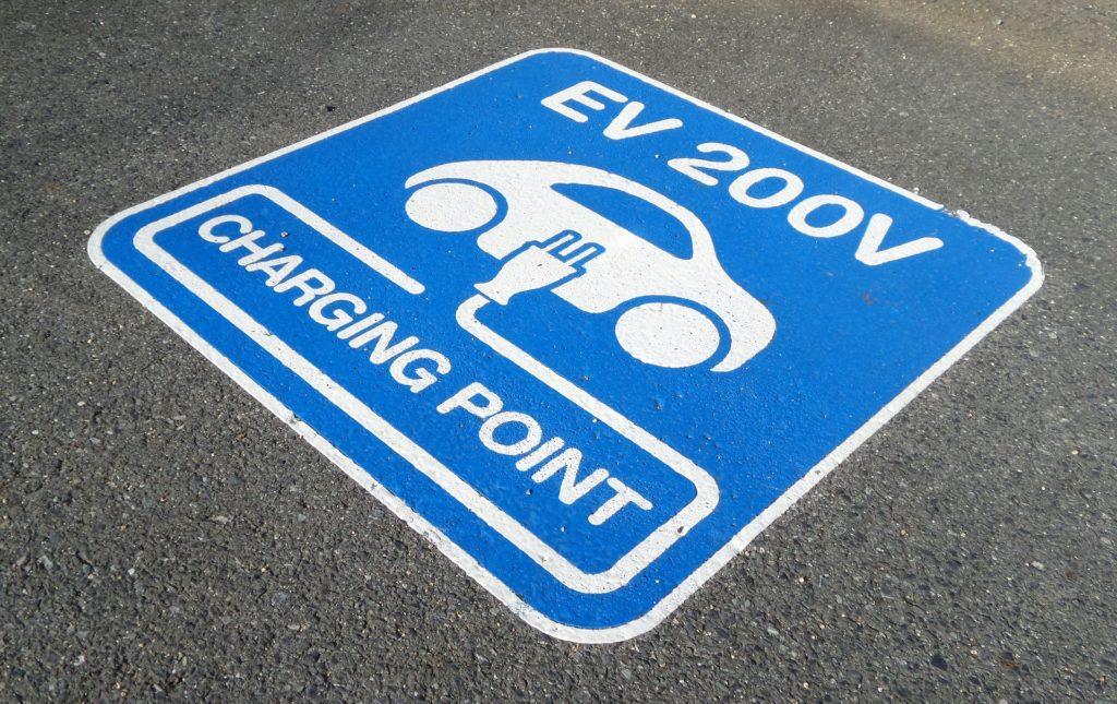 parking borne de recharge